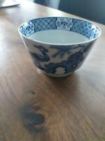 """Yuan"" Woods and Sons Pattern 656368 - Open Sugar / Bowl dia 11.7cm Blue / White"