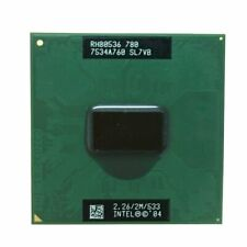 533 MHz PM 780 CPU PPGA478 Support 915 Chipset 2.26 GHz Intel PM780 CPU Notebook Pentium M Processor 780 2M Cache