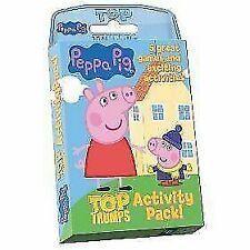 Top TRUMPS Peppa Pig Activity Pack 014014