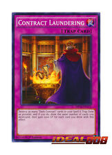 YUGIOH x 3 Contract Laundering - MP16-EN171 - Common - 1st Edition Near Mint