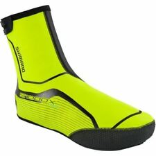 Chaussures et couvre-chaussures jaune Shimano