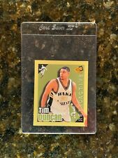 1996-97 Press Pass MINI #1 TIM DUNCAN ROOKIE.......NM-MT+