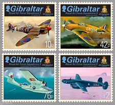 Gibraltar  2013 RAF squadron airplanes mnh   us