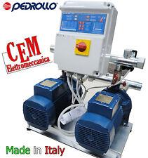 Gruppo 2 elettropompe Pedrollo Pompa 2CPm 25/140H -  HP 1,5 per elettropompa
