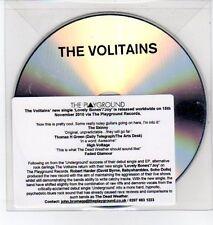 (DQ299) The Volitains, Lovely Bones / Joy - 2010 DJ CD
