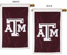 Texas A&M University House Flag, Embroidered by Evergreen