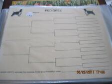 English Springer Spaniel Blank Pedigree Sheets Pack 10