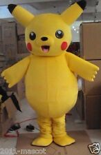 New Hot sale!!  LOVELY Pikachu Adult Mascot Costume suit for any size