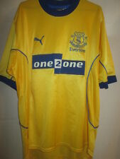 Everton 2000-2001 Away Football Shirt Size Large /14951