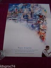 """NEW-MINT- 2003  Walt Disney,s """"MAGIC KINGDOM"""" """"100 Years of Magic""""poster"""