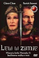 The Lion in Winter DVD, Glenn Close, Patrick Stewart, New and Sealed, Region 2UK