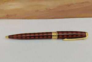 S.T. Dupont Olympio Vertigo I Chinese Lacquer Ballpoint Pen, EXCELLENT!