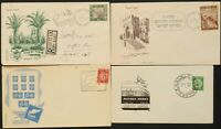 ISRAEL 1948 & 1949 FDC COLLECTION, Tabul,Petach Tikva,Constitute Assembly