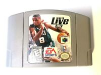 NBA LIVE 99 NINTENDO 64 N64 Game Tested + Working & Authentic!