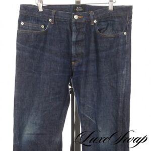 APC Paris New Standard Jean Classique Indigo Redline Selvedge Denim Jeans 34 NR