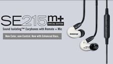 SHURE SE215m+SPE Special Edition Sound Isolating Earphones with Remote + Mic