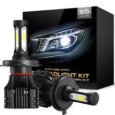 220W 22000LM H4 HB2 9003 CREE LED Headlight Kits 6500K High Low Beam vs 160W HID
