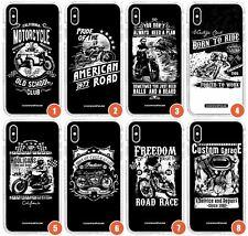 Custom Cruiser Bicicleta impresiones delgada impacto caso para iPhone | Retro Moto Cruiser