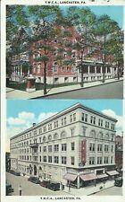 Lancaster Pennsylvania YWCA YMCA Building 1918 Camp Tyson Tennessee Postcard