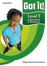 Got It! Level 1 Student's Book and Workbook with CD-ROM: A Four-level American