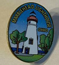 Marblehead Lighthouse Lapel Pin Enamel