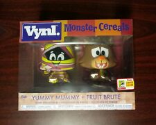 Funko Vynl Ad Icons Monster Cereals Yummy Mummy & Fruit Brute SDCC Exclusive