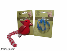 New listing Greenbrier Kennel Club Plush Bird Cat Toy w/Bell Free Shipping - And Wire Toy