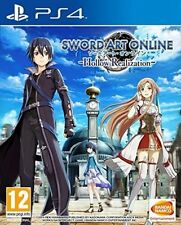 Sword Art Online Hollow Realization PlayStation 4 Ps4 Anime Game