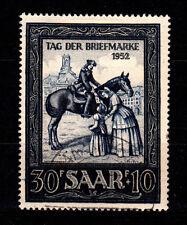 Saarland 1952, Mich.Nr. 316    sauber  gestempelt, siehe Scan(AA)