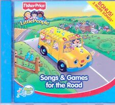FISHER PRICE LITTLE PEOPLE Songs Games Road CD Classic Children HOME ON RANGE