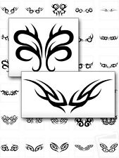 TRIBAL TATTOO DESIGNS - 213 Printable Images - Black & White, Lower Back Art