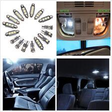 New 16X Car LED Plate Interior&Dome&License Plate&Reading Light Festoon Bulb Kit
