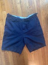 Lands End Irish Linen Shorts