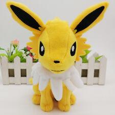 "New Pokemon Eevee Jolteon soft plush doll toy Tomy 9"""