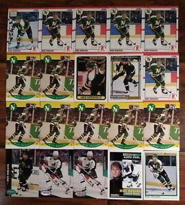 1990-91 UPPER DECK SCORE ROOKIE CARD RC MIKE MODANO HOCKEY CARD LOT OF 20