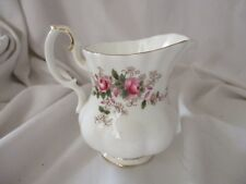 Royal Albert Lavender Rose bone china creamer gold rims