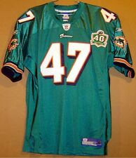 Miami Dolphins Sullivan Aqua Nfl Jersey With 40th Anniversary Patch