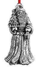 2015 Reed Barton 12th Sterling World Santa Kris Kringle Xmas Ornment Decoration