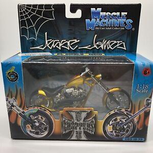 Muscle Machines Jesse James West Coast Choppers El Diablo Rigid JJ03-18-23 GOLD