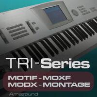 KORG TRINITY SAMPLES for YAMAHA MOTIF ES XS XF MOXF MODX MONTAGE KEYMAPS READY