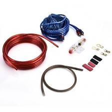 1500W 8 Gauge Car Audio Subwoofer Sub Amplifier AMP Wiring Kit Power Cable