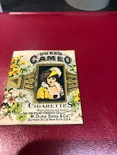 More details for dukes cameo cigarette tobacco packet early