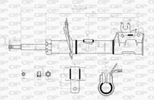 AMORTISSEUR (à L'UNITé) POUR FIAT PANDA 1.2,1.1,1.3 D MULTIJET,1.2 4X4,1.2 LPG