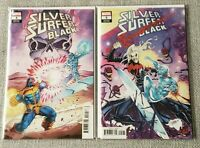Silver Surfer Black #4 & 5 - Ron Lim Variants - Knull Cover