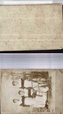 528538,CDV Fotografie Cabinet Foto Trachten Frauen Berchtesgaden Bayern Tracht