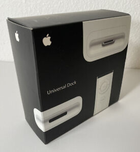 RARE Apple Universal Dock MB125G/A Barely Used 100% COMPLETE - FREE SHIPPING