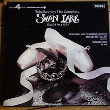 10BB 168-170 Tchaikovsky Swan Lake / Ruggiero Ricci / Fistoulari 3 LP box set