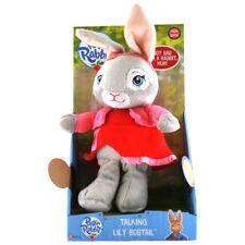 Peter Rabbit Animated Series Talking Lily Bobtail Plush NEW