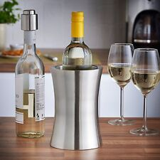 Wine Cooler Stainless Steel Double Walled Chiller Bottle Champagne Holder Pro