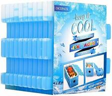 Ice Pack for Lunch Box - Reusable Freezer Ice Packs for Coolers - Slim
